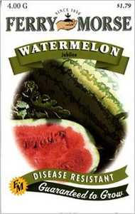 Ferry-Morse Seed Company 1418 Watermelon Jubilee Seeds