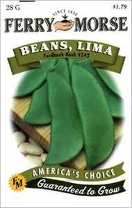 Ferry-Morse Seed Company 1434 Beans Fordhook Bush Seeds