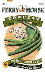 Ferry-Morse Seed Company 1450 Cowpeas California Seeds