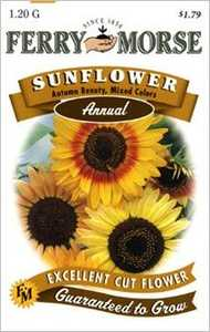 Ferry-Morse Seed Company 1498 Sunflower Autumn Be Seeds