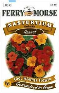 Ferry-Morse Seed Company 1902 Nasturtium Alaska Seeds