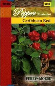 Ferry-Morse Seed Company 2148 Pepper Caribbean Red Seeds