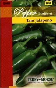 Ferry-Morse Seed Company 2151 Pepper Tam Jalapeno Seeds