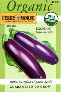 Ferry-Morse Seed Company 3053 Eggplant Early Lng Seeds
