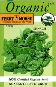 Ferry-Morse Seed Company 3121 Spinach Bloomsdale Seeds