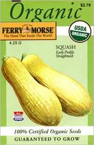 Ferry-Morse Seed Company 3129 Squash Early Prolif Seeds