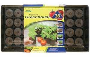 Jiffy J636 Professional Tomato Starter Greenhouse 36