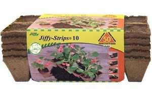 Jiffy JS50 Jiffy-Strips 10 5strips 10pots
