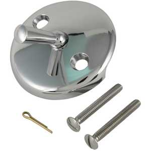 Keeney Mfg K826-1PC Trip Lever Style Face Plate With Screws, Chrome