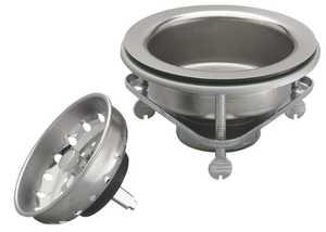 Keeney Mfg K5416 Screw Style Kitchen Basket Strainer Assembly, Stainless Steel