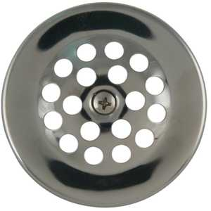 Keeney Mfg K5064PC Dome Strainer Cover With Screw, Polished Chrome