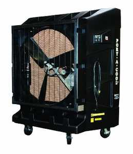 PORT-A-COOL, LLC PAC2K482S Portable Evaporative Cooler Two Speed 48 in