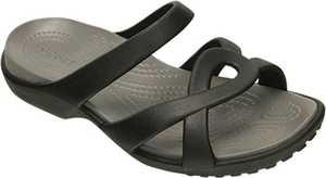Crocs Inc. 202497-05M Meleen Twist Sandal Black/Smoke W9