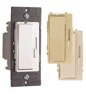 Legrand/Pass & Seymour H703 Pt UTCCCV6 Harmony Tru-Universal Dimmer With 3 in Terchangeable Face Colors