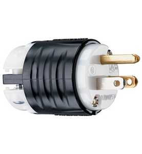 Legrand/Pass & Seymour PS5266XCCV4 15a, 125v Extra-Hard Use Spec-Grade Connector, White