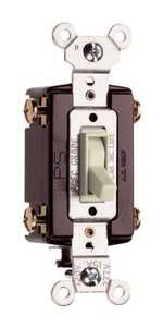 Legrand/Pass & Seymour 664LAGCC12 4-Way Switch 15a 120v Grounded Light Almond