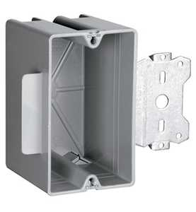 Legrand/Pass & Seymour S118S50 Wood & Steel Stud Bracket Box With Quick/Click