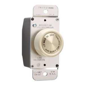 Legrand/Pass & Seymour 94003IV Fan Control Single Pole 3 Speed Ivory