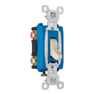 Legrand/Pass & Seymour CS15AC3ICC8 Switch 15a Side Wire 3way Ivory