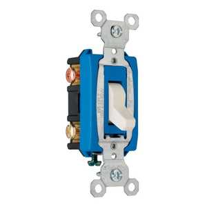 Legrand/Pass & Seymour CS15AC3LACC8 Switch 15a Side Wire 3-Way Light Almond