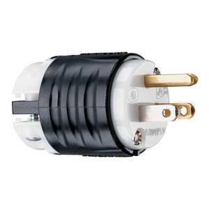 Legrand/Pass & Seymour PS5266XCC15 Plug 15a Spec Grade Ehu Black/White