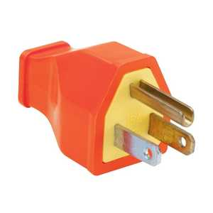 Legrand/Pass & Seymour SA399OCC10 Plug Residential 15a Orange