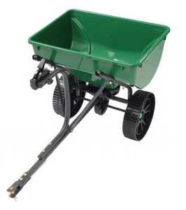 Precision Products TBS4300RDGY 75 Lb Tow Behind Broadcast Spreader