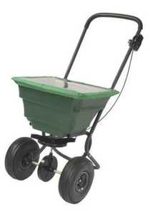 Precision Products SB4000PRCGY 75 Lb Pro Broadcast Spreader With Rain Cover