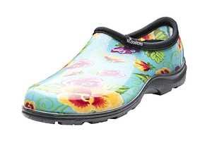 Sloggers 5114TP Women's Rain & Garden Shoe 9