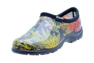 Sloggers 5102BK08 Women's Rain & Garden Shoe Midsummer Black Size 8