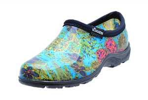 Sloggers 5102BL07 Women's Rain & Garden Shoe 7