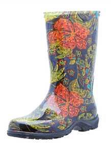 Sloggers 5002BK09 Women's Rain & Garden Boot 9