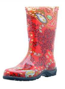 Sloggers 5004RD10 Women's Rain & Garden Boot 10