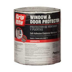 Grip-Rite VWW6100 6-Foot X 100-Foot Vinyl Window Wrap