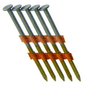 Grip-Rite GR09HG Round Head Nails 23/8 Gal vanized Sm 5m