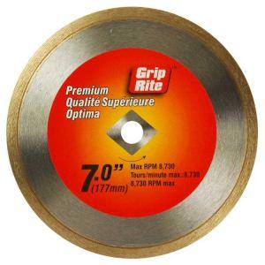 Grip-Rite GRCTDB7P 7 in Premium Tile Diamond Blade