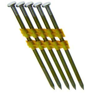Grip-Rite GRT312131 3-1/2x131 Sm Round Head Plastic Strip 500