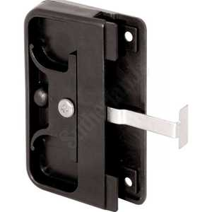 Prime Line Products A 142 2-5/8-Inch Black Steel Latch And Pull