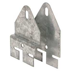 Prime Line Products GD 52287 7/8-Inch Garage Door Dual Heavy Duty Spring Hook Plates