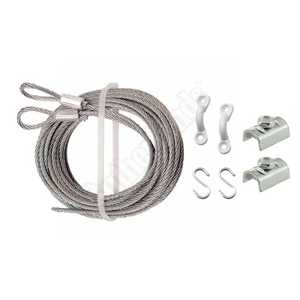Prime Line Products GD 52289 3/32-Inch X 12-Foot Inside Latch Cable Kit