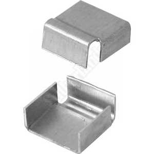 Prime Line Products PL 14310 5/8 In Mill Finish Aluminum Spreader Bar Clips