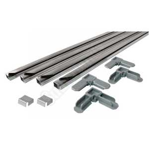 Prime Line Products PL 7802 7/16 x 3/4-Inch 5 x 5-Foot Window Screen Frame Kit