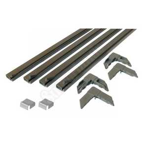 Prime Line Products PL 7806 5/16 x 3/4 x 36 Bronze Aluminum Screen Frame Kit