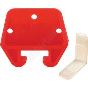Prime Line Products R 7082 Red Plastic Drawer Track Guide And Glides Kit