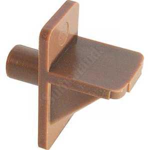 Prime Line Products U 9001 1/4-Inch Brown Plastic Shelf Support Peg