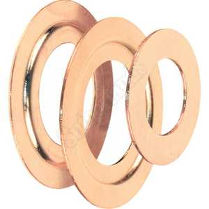 Prime Line Products U 9529 3-Piece Brass Plated Bore Reducer Ring Set