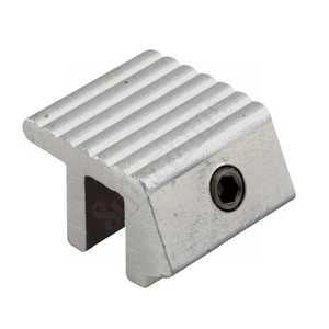 Prime Line Products U 9810 1-Inch Aluminum Sliding Window Lock With Single Hex Screw