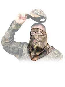 Primos Hunting 528 Mossy Oak New Break-Up Camouflage Cotton 3/4 Mask