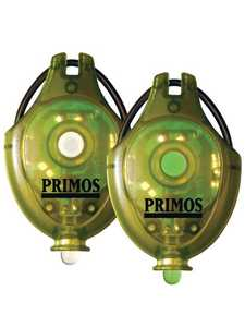 Primos Hunting 62511 Green/White Cap Lights 2-Pack