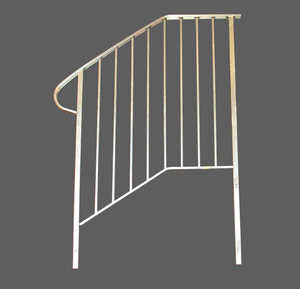 Century Group 11047S-R Concrete Step Railing 4-Tread